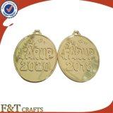 De in het groot Medaille van de Herinnering van de Medaille van de Sport van de Medaille van het Metaal van de Douane Goud Geplateerde