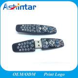 O PVC Customed Stick USB Controle Remoto de Flash de Memória Flash USB de Borracha