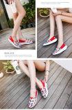 方法デザイン熱い販売のキャンバス・ボートの靴