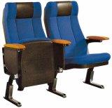 Haltbarer Theater-Gewebe-Stuhl mit Armlehne Oc-159