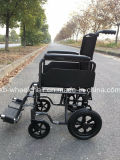 """12 """" 뒷 바퀴 수송 의자, 수동 휠체어"""