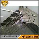 Balaustre de cristal Jbd-8011 de la escalera del acero inoxidable