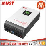 Invertitore solare ibrido di alta efficienza della visualizzazione di PV1800 LCD+LED