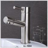 현대 작풍 세라믹 카트리지 SUS304는 손잡이 물동이 꼭지 믹서를 골라낸다