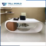 L'acrylique Surface solide de marbre italien CEO Bureau Meubles de bureau