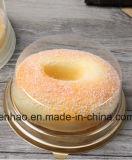 Panadería alimentos envases desechables de contenedor de pastel de verificación del grado de la FDA