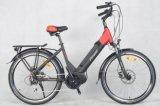 2017 Stadt E-Fahrrad des neuen Modell-700c mit Mittler-Motor (TDB07Z-MID)