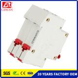 Una muestra gratis MCB DC/AC, 1-6A 10-32un 40-32A, 6k/10KA Alta Capacidad de ruptura, 1P 4p, 230V/400V, Ce RoHS SGS ISO9000 ISO14000, la fábrica directo de Ventas