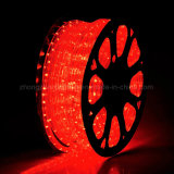 En position couchée Lamp Beads 220 Type de corde souple de LED de tension Strip Light