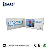 2.4 Zoll LCD-videoHandelsname-Karte mit 128MB 256MB Speicher