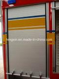A liga de alumínio de proteção de incêndio rola acima a porta para veículos especiais