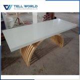 アクリルの固体表面のイタリアの大理石CEOの机のオフィス用家具