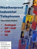 Im Freien wetterfestes &Vandalproof Aufruf-Kasten Handfree Nottelefon