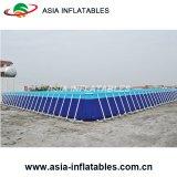 Populäre Wasser-Spiele auf riesigem entfernbarem Metallrahmen-Swimmingpool