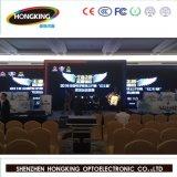Afficheur LED polychrome élevé d'intérieur de la définition P6 de prix de gros