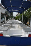 Liya 5.8m Bateau de pêche en fibre de verre bateau à passagers de bateaux de tourisme