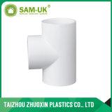 Sch40 de haute qualité La norme ASTM D2466 plastique PVC blanc un raccord en T03