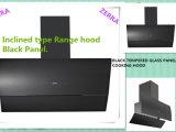 клобук ряда панели Tempered стекла черноты длины 600mm-900mm (RC1004)