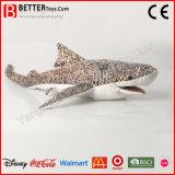 Juguetes suaves de la felpa del tiburón del animal relleno de ASTM para los cabritos/los niños