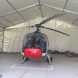 A armazenagem externa de material impermeável Wind-Resistant Aeronaves Industrial Hangar tenda