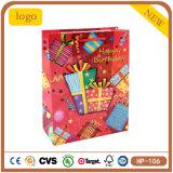 Überzogenes Papier-Geburtstag-Geschenk-Paket-Kleidungs-Supermarkt-Kuchen-Geschenk-Beutel