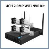 4CH 1080P inalámbrico Kit de seguridad del sistema NVR Cámaras IP CCTV