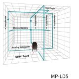 Ld 5ライン緑のSelfleveling 360度レーザーのレベル