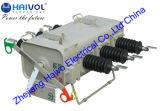 Tipo al aire libre interruptor del montaje de poste de rotura de carga aislado gas de Sf6