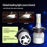 Alquiler de 9007 C6 Faro de luces de cruce LED de alta COB Kit H4 9005 Faro de luz LED 360