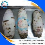 카사바 감자 서양 고구마 피부 껍질을 벗김 기계