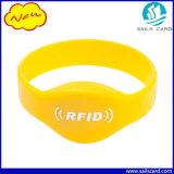 방수 주문 로고 재사용할 수 있는 실리콘 RFID 소맷동