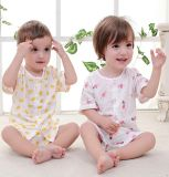Neue Form scherzt Kleid-kurzes Hülsen-Klage-Baby-Kleidung-Kind-Kleid
