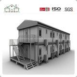 اثنان أرضية [شبر] تضمينيّة وعاء صندوق بناية منزل لأنّ معيشة/عمل