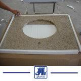 Le granit G682 salle de bain haut de la vanité du dissipateur de compteur de comptoir en marbre