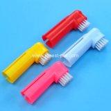 Weicher Plastikhund zahnmedizinisches Teethbrush für Zahn-Reinigungs-Haustier-Zahnbürste