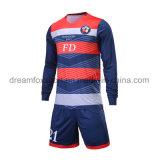 Uniformes sublimados aduana del fútbol de la venta al por mayor de la camisa del balompié de los jerseys del fútbol de Taiwán para las personas