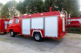 Isuzu 2000L水および泡の消火活動のトラック