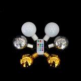 Lâmpada LED de alta qualidade da luz de esferas com controle remoto