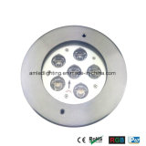 6X3w DC24V IP67 LEDの地下の床Lamp&Spotlight