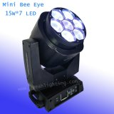 Mini7*15w LED Bienen-Augen-Träger-bewegliches Hauptlicht