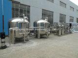 Instalación de tratamiento del filtro de agua de la ósmosis reversa 18t