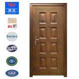 BSの証明書の木製の穀物の火の鋼鉄ドア