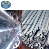 L'acier Layher échafaudage et plusieurs types de système d'Échafaudage