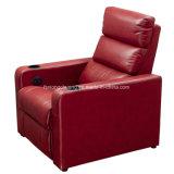 연약하고 편리한 Recliner 팔 의자 가정 극장 소파 VIP1675