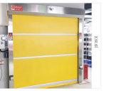 O PVC rápido Porta de giro de alta velocidade com estrutura de aço
