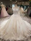 Handmade окаймляя отбортовывая платье венчания шарика шнурка Шампань