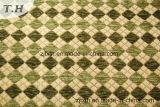 Muebles de chenilla Gemotric verde tejido (Fürth31151)