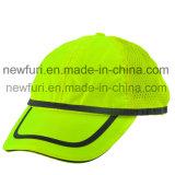 Chapeau de sûreté r3fléchissant r3fléchissant de chapeaux de sûreté de casquettes de baseball