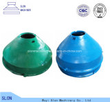 O cone Crushe de Minyu Msp400 do aço de manganês parte côncavo e o envoltório