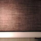 대중음식점 실내 정연한 브라운 색깔 직물 벽 램프 현대 단순한 설계